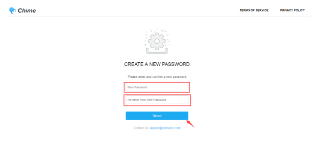 How to reset your Chime password – Chime Support (Chime Technologies